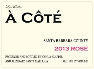 2013 A Cote Rose