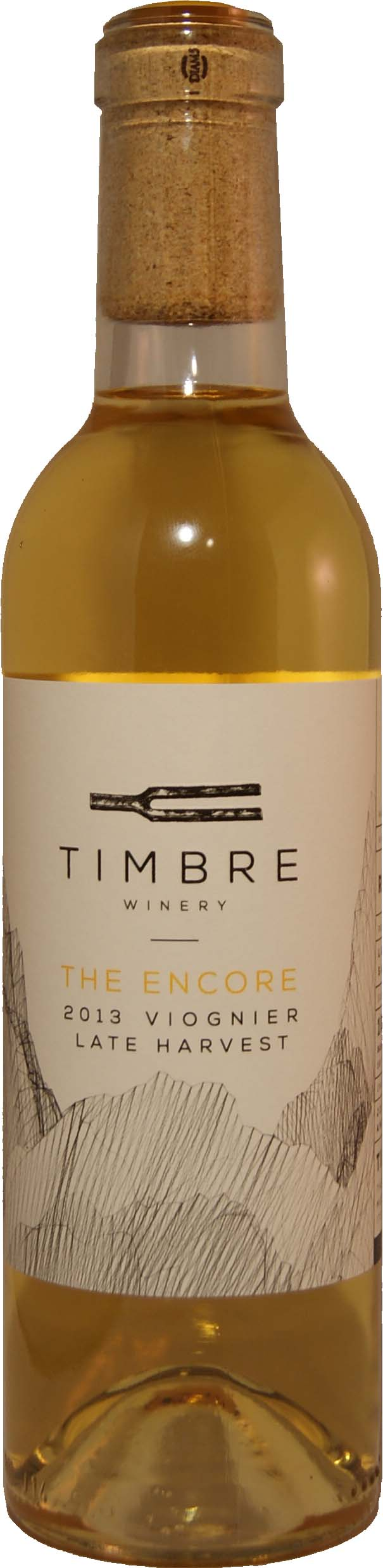 2013 timbre late harvest viognier the encore riverbench for La fenetre winery
